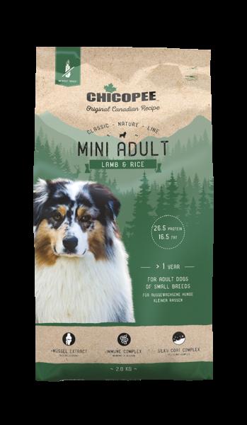 Chicopee Classic Mini Adult - Lamm & Reis 2kg