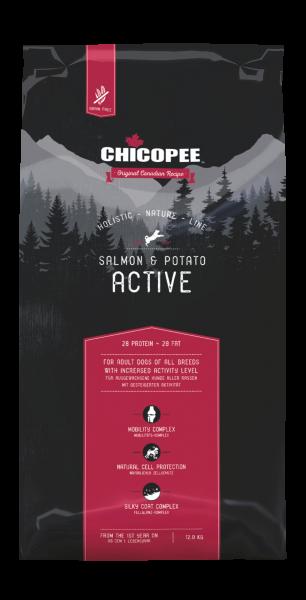 Chicopee Holistic Lachs & Kartoffeln - Active
