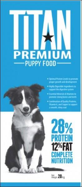 TITAN Premium Puppy Welpenfutter 20kg / bag