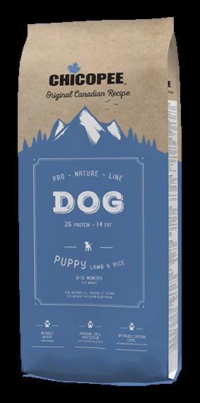 Chicopee Pro Nature Line puppy Lamm & Reis 20kg
