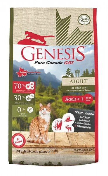 Genesis Pure Canada - Adult - my hidden place