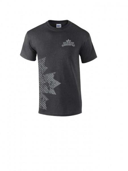 T-Shirt Chicopee, grau