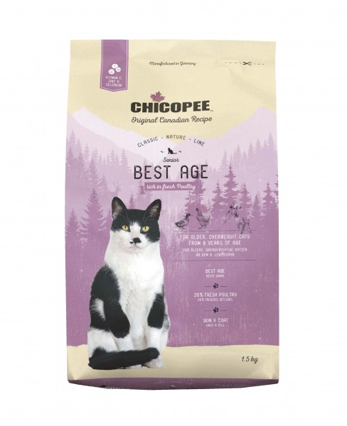 Chicopee Classic - Cat Best Age Poutry MHD