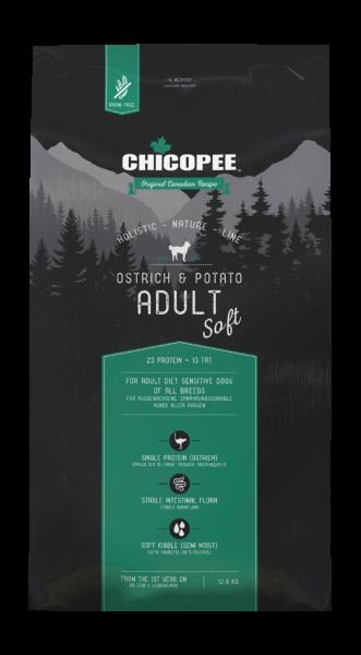 Chicopee Holistic Strauß (Ostrich) & Kartoffeln - Soft