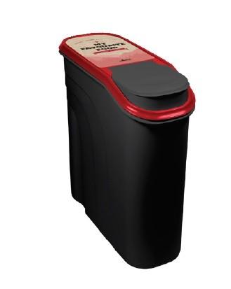 Futtercontainer aus Kunststoff, 6 Liter