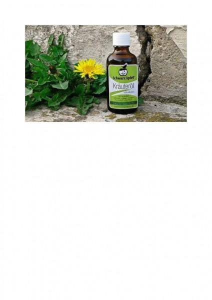 SchwarzApfel® Hautöl / Kräuteröl - incl. Pipette 50ml